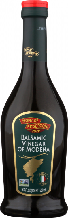 Front view of Balsamic Vinegar GREEN 16.9 FL OZ
