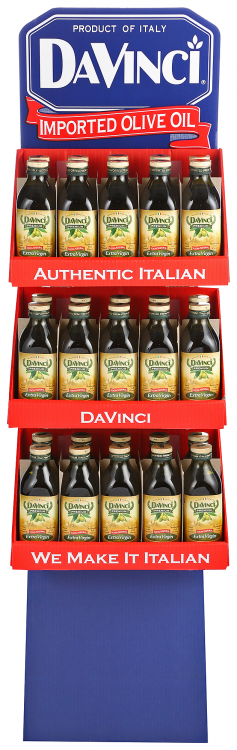DaVinci Extra Virgin Olive Oil Shipper