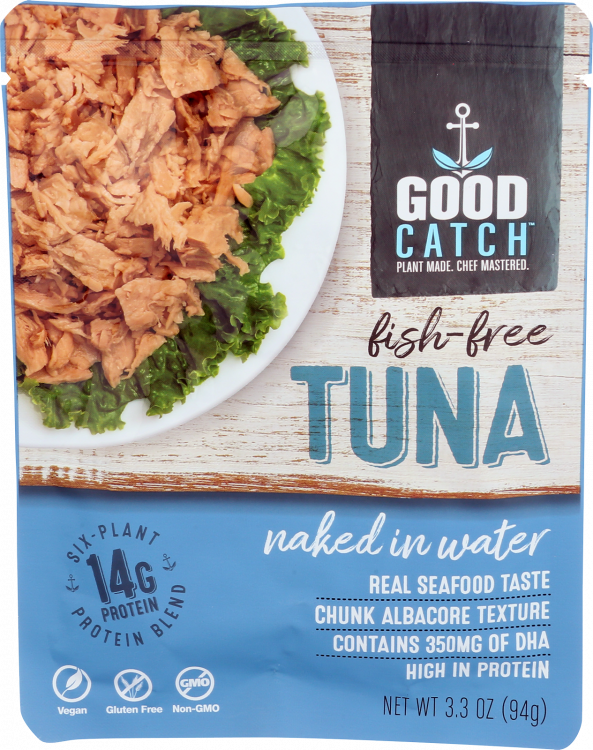 Fish Free Tuna - Naked in Water - front of package