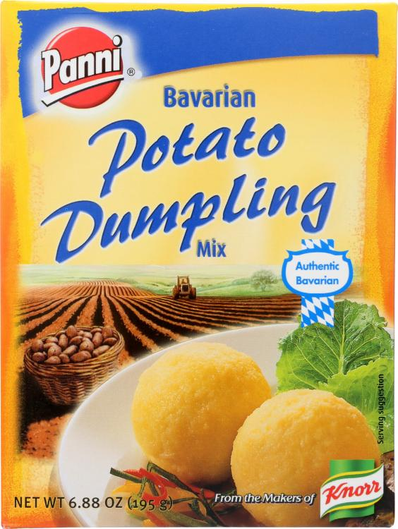 Bavarian Potato Dumplings