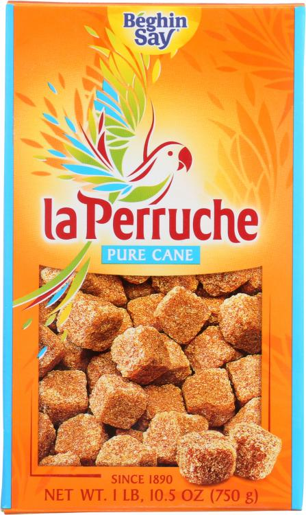 La Perruche Brown Sugar Cubes 750g