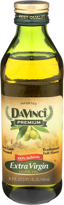DaVinci EVOO front of package