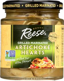 Grilled Marinated Artichoke Hearts