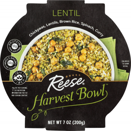 Front view of Lentil Harvest Bowl