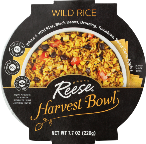 Front view of Wild Rice Harvest Bowl