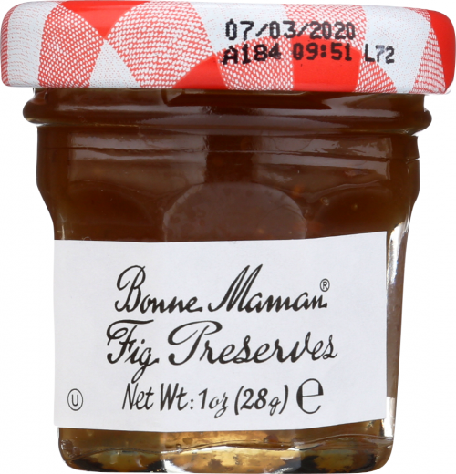 Front view of Fig Preserves 1oz Mini