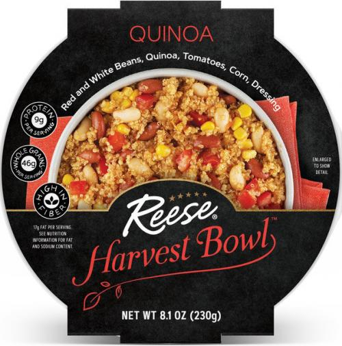 Front view of Quinoa Harvest Bowl