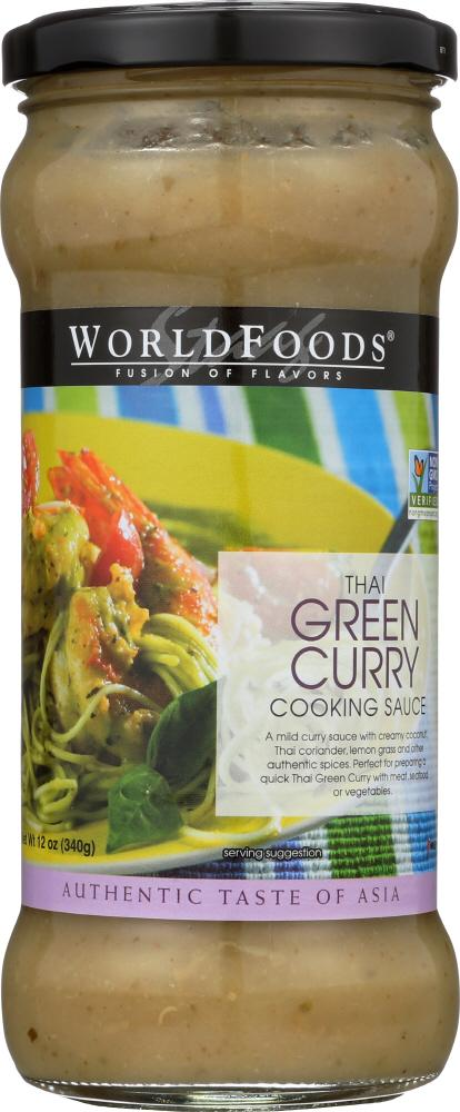 Thai Green Curry Cooking Sauce