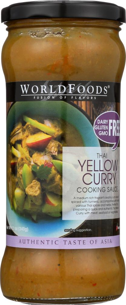 Thai Yellow Curry Cooking Sauce