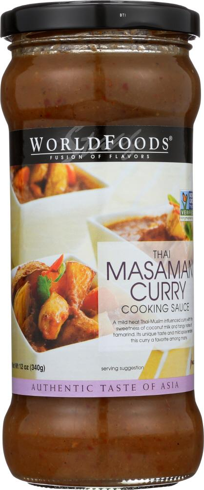 Thai Masaman Curry Cooking Sauce