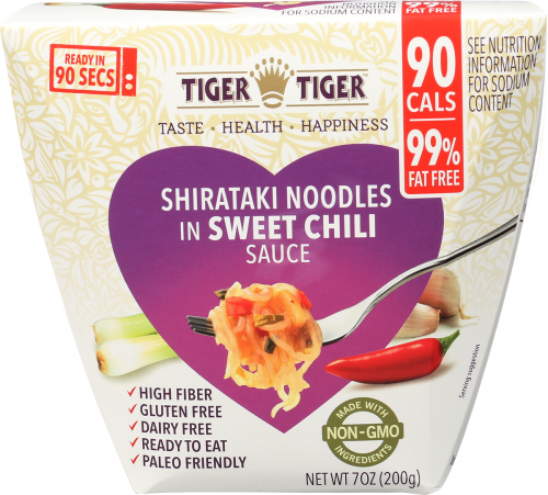 Front of Package - Shirataki Noodles in Sweet Chili Sauce