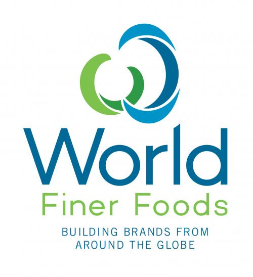 World Finer Foods logo - building brands from around the globe